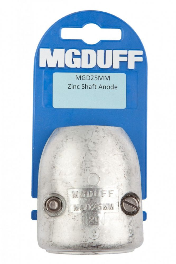 MG Duff Zinc Streamline Shaft Anodes